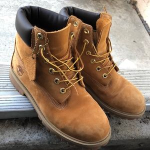 Timberland boots men's size 6 women's size 8
